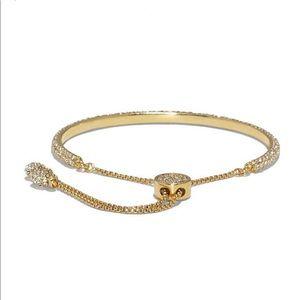 Vince Camuto Jewelry - Vince camuto gold crystal pave slider bracelet